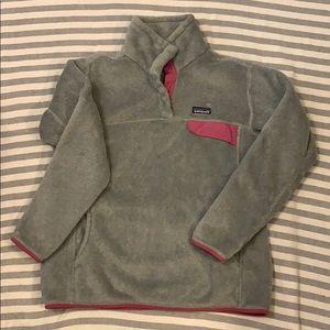 Gray Patagonia Fleece